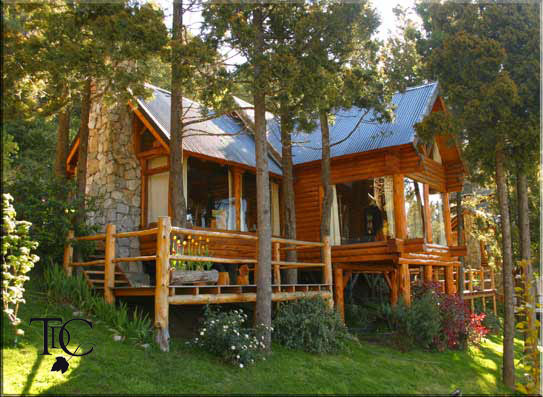 Caba as en bariloche terrazas del campanario alojamiento - Fin de semana en cabanas de madera ...